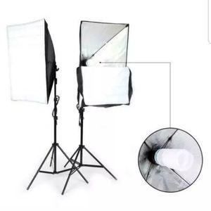 2Pcs Softbox Stand Photography Photo Set